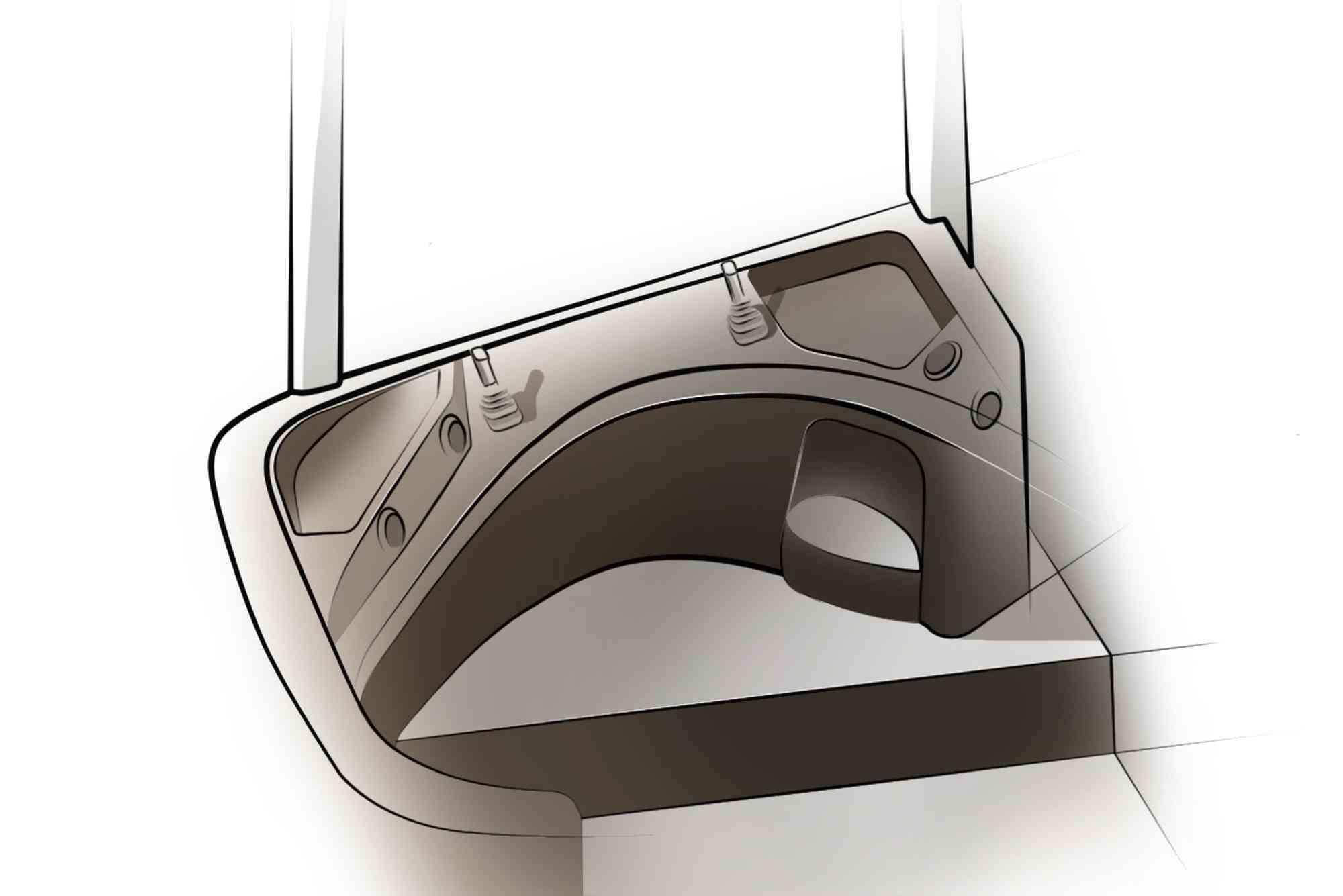 2D designschetsen (interieur)