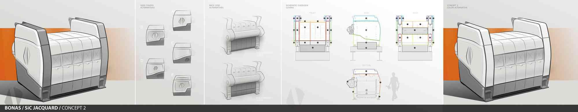 2D design ontwerp voorstellen