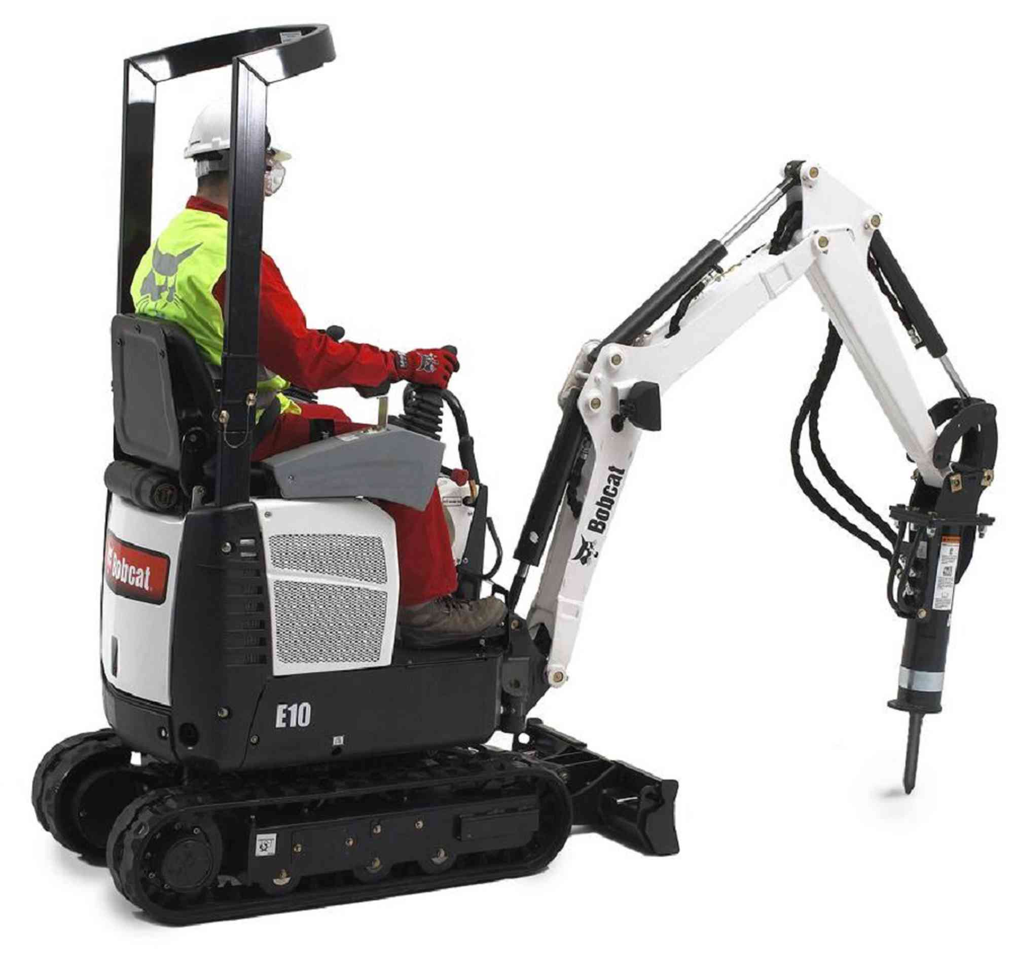 Claddings for mini excavator