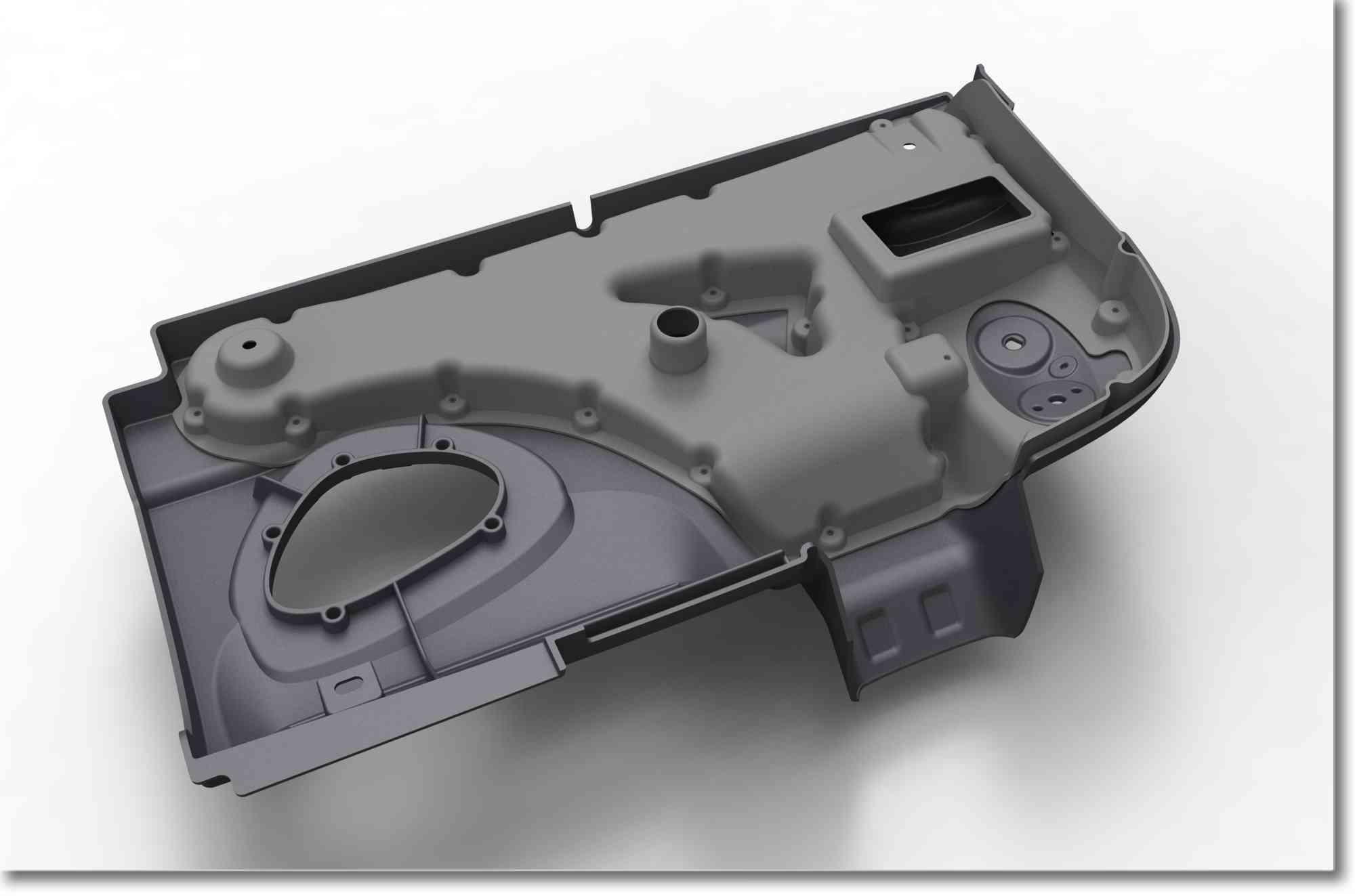 3D ontwikkeling PUR binnenbekledingen