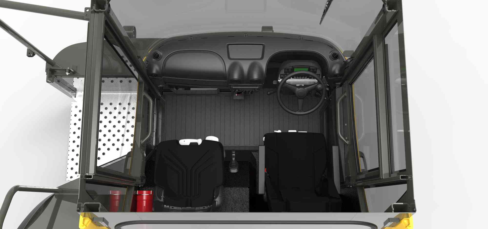 ABS / PUR dashboard, instrumentenpaneel en PU vloermat