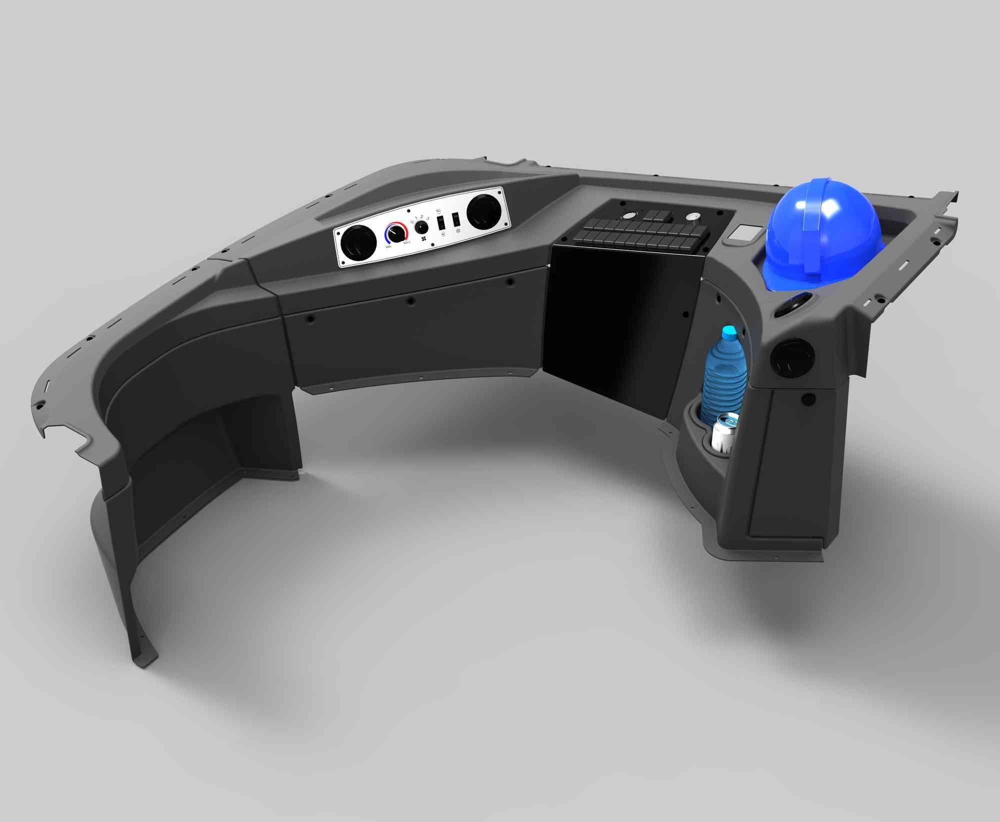 3D onderdelen in ABS (interieur)