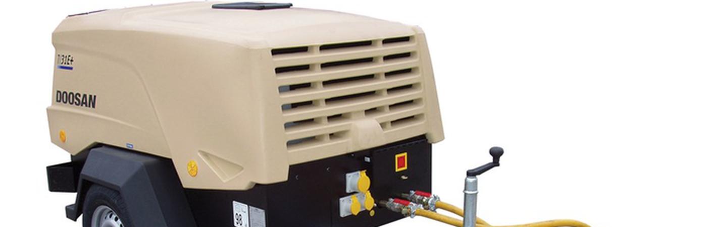 Mobile compressor cover
